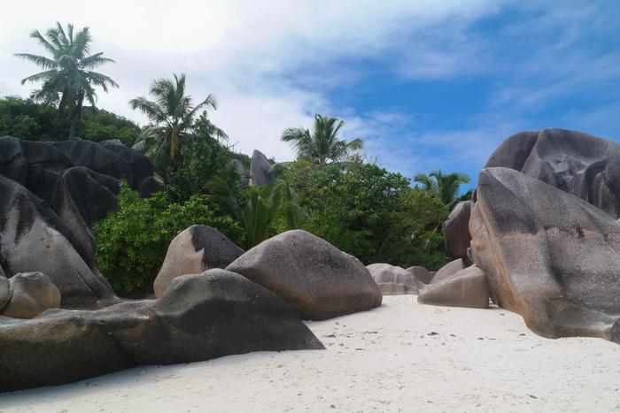 Seychelles seychellen La Digue Anse Source d'Argent