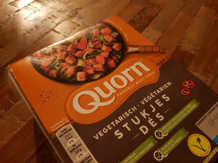 Review | Quorn Vegetarische Stukjes