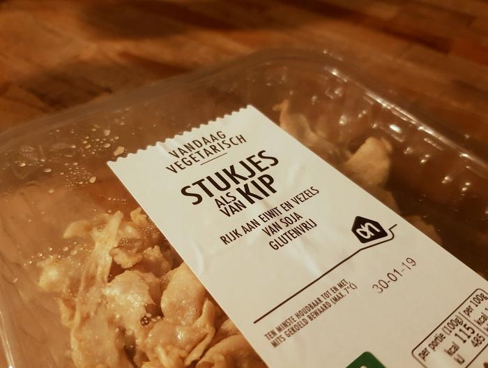 Review | AH Vandaag Vegetarisch Stukjes Als Van Kip