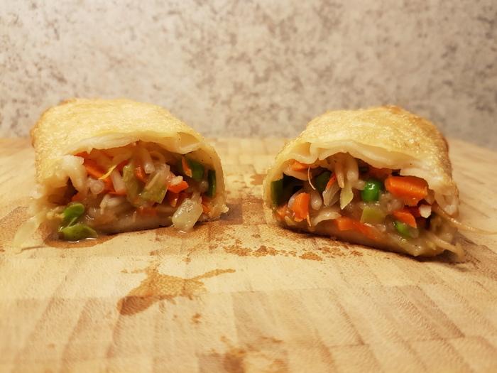 Review | Mora Vegetarische Groente Loempia