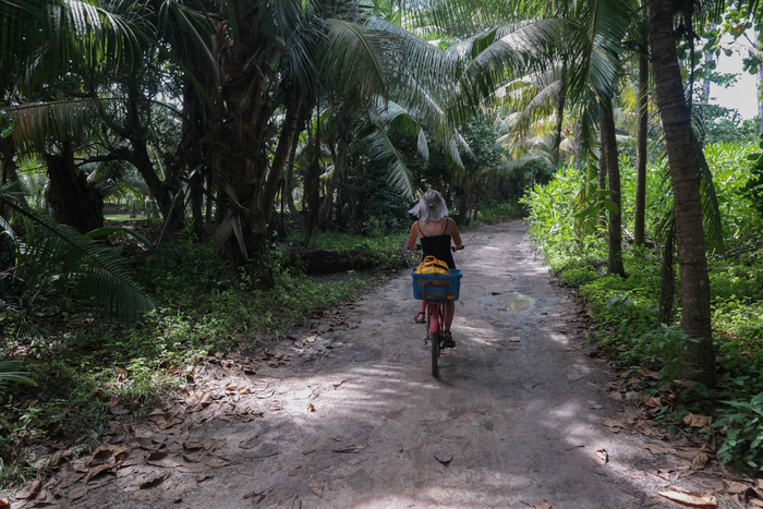 Bicycle la digue seychelles