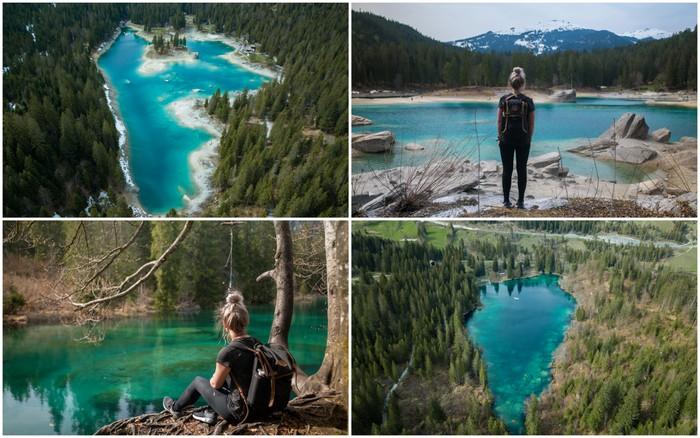 Zwitserland | Hike naar de Caumasee & Crestasee