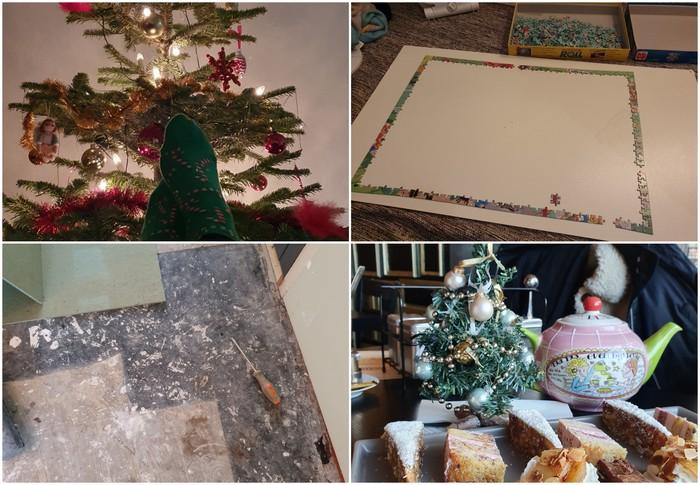 Photo Diary #228 | Kerst, high tea & vloer leggen