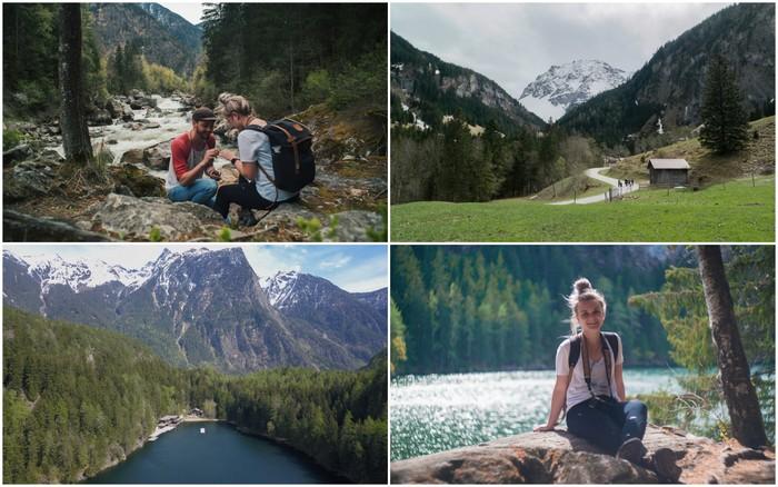 Oostenrijk | Hike naar Piburger See (I said YES) & Kessel waterfall