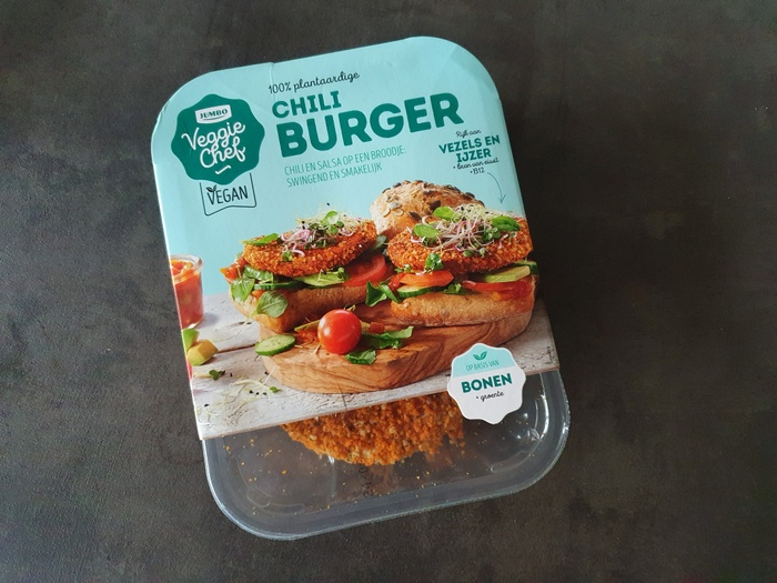 Review | Mexicaanse bonen burger van Jumbo Veggie chef