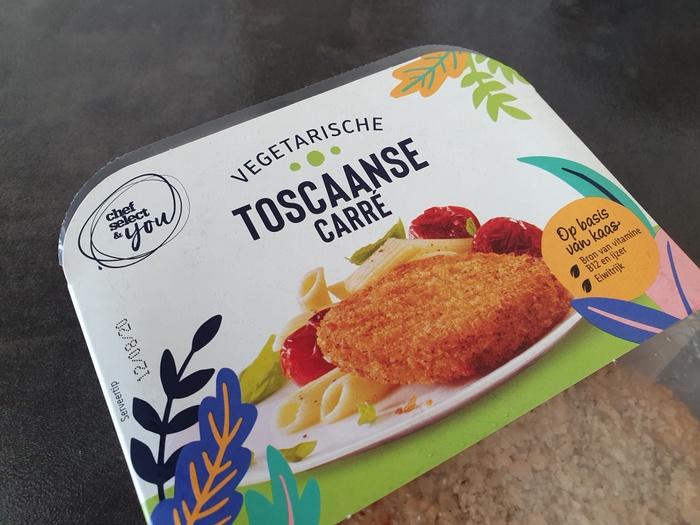 Review | Vegetarische Toscaanse Carré van Lidl